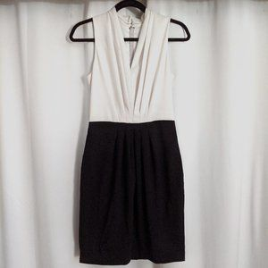 H&M Colorblock Sleeveless Office Dress - Size 6